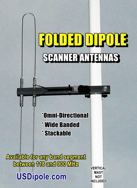 Folded Dipole Scanner Antennas – Centerfire Antenna, LLC