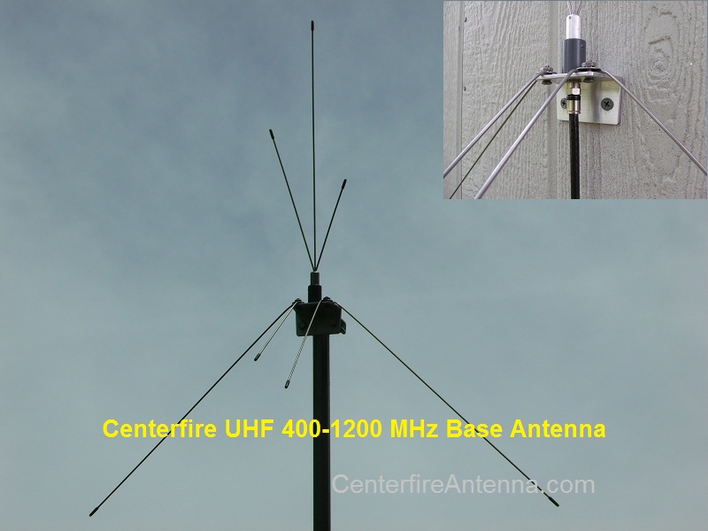UHF Multi-Band and HDTV antenna with type F connector