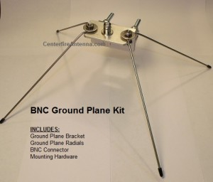 BNC Ground Plane Kit