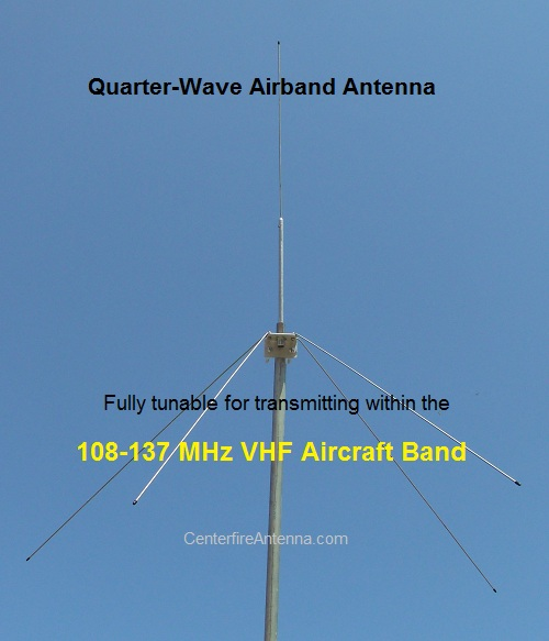 VHF Airband Base Antenna