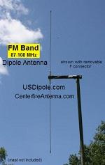 FM Dipole Long Range Antenna 2
