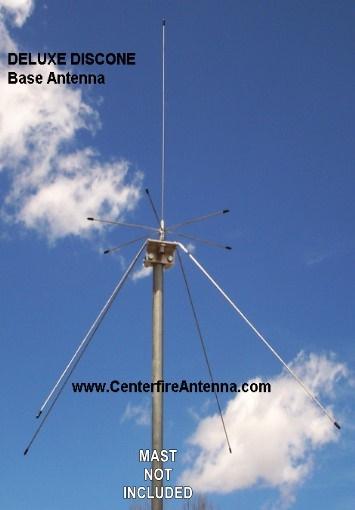 Deluxe Discone Antenna Centerfire Antenna Llc