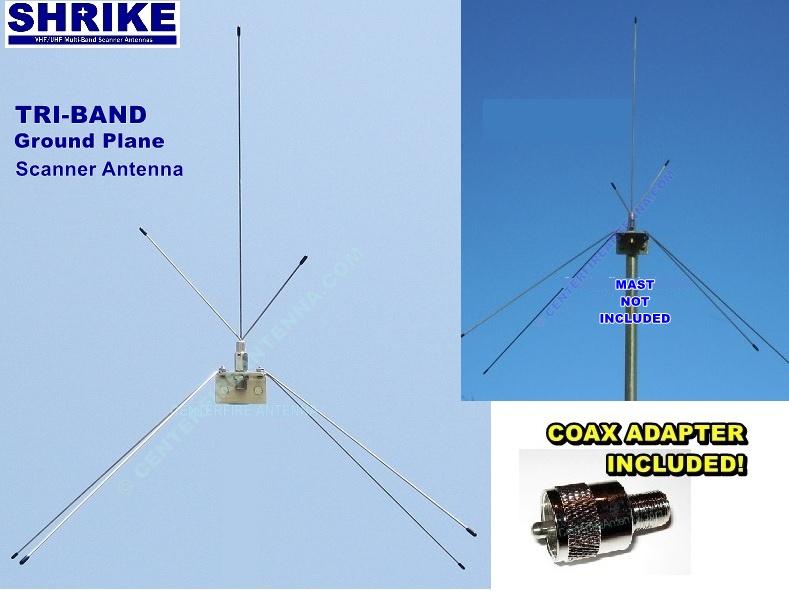 VHF-Hi/UHF Multi-Band – Centerfire Antenna, LLC
